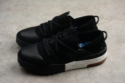 sports shoes 07235 eda92 adidas Alexander Wang Bball Low Black Suede AC6847 Mens Basketball Shoes-2
