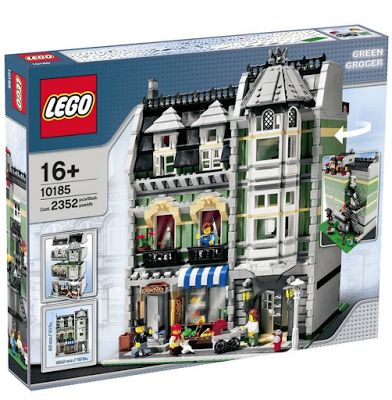 I Would Love Grocery Shopping if I could do it at Lego's Green Grocer Grocery Store! You?