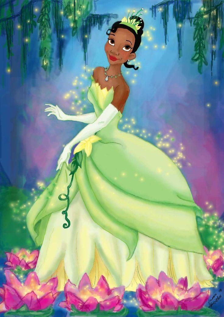 Картинка мультфильм принцесса и лягушка
