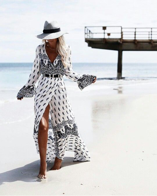 FASHION <<●● BOHO ♡ BOHEMIAN ●●>>  Flowing beach cover up