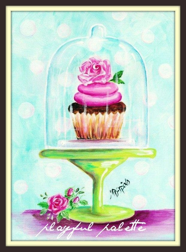 ROSA CUPCAKE w rosa Rosen Glaskuppel-Bäckereikunstbonbon durch AdoraArt. 7,50 U… – #AdoraArt #CUPCAKE #durch #GlaskuppelBäckereikunstbonbon