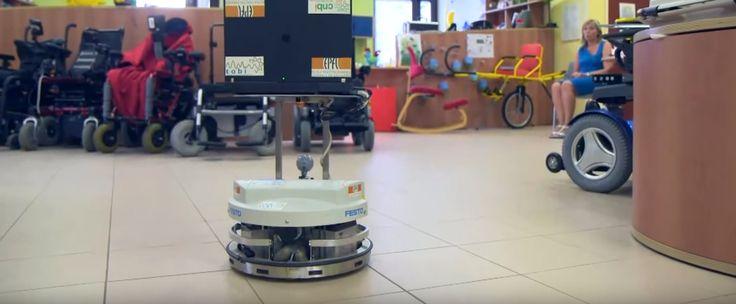 Gedankengesteuerte Roboter sollen Menschen mit Bewegungseinschränkungen helfen
