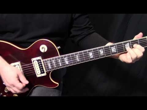 """how to play """"Black Dog"""" by Led Zeppelin on guitar - rhythm guitar lesson - YouTube"""