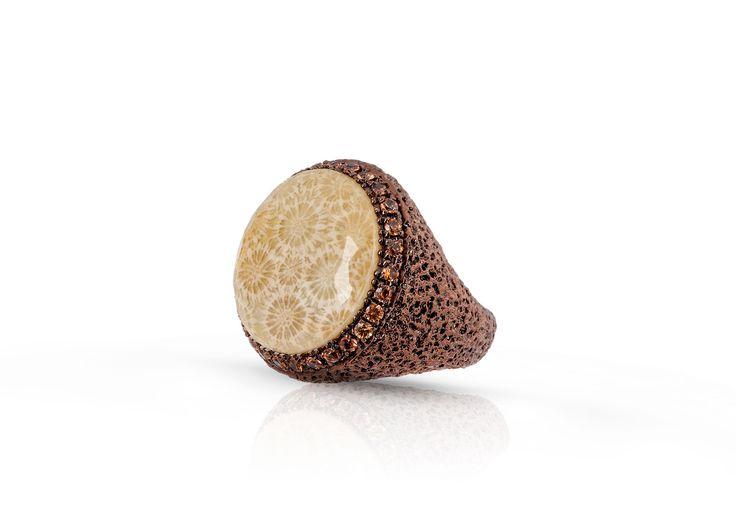 Anello argento, anello oro, anello zaffiri, anello corallo, anello regalo, anello per lei,anello donna,anello moda di Modellart su Etsy