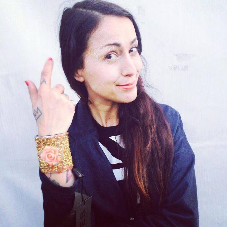 #syria indossa il #bracciale #goldandroses #elesitalia