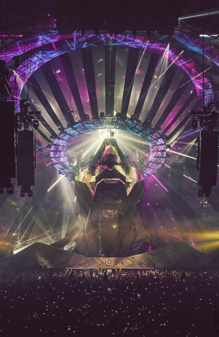 Los conciertos de hardstyle son una gran referencia para ambientes y el tema de luces