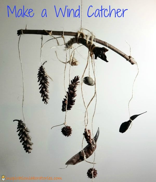 i might do this with my class ... so tempting to go on a nature walk Spring Activities for Kids: Make a Wind Catcher {plus a Spring and Easter Activities Blog Hop!}