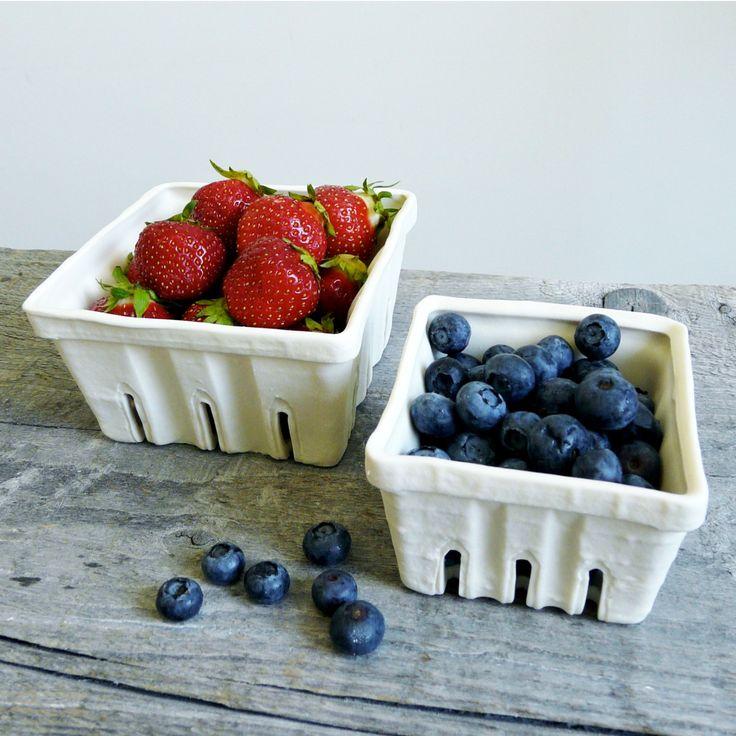 Berrylicious Porcelain Basket