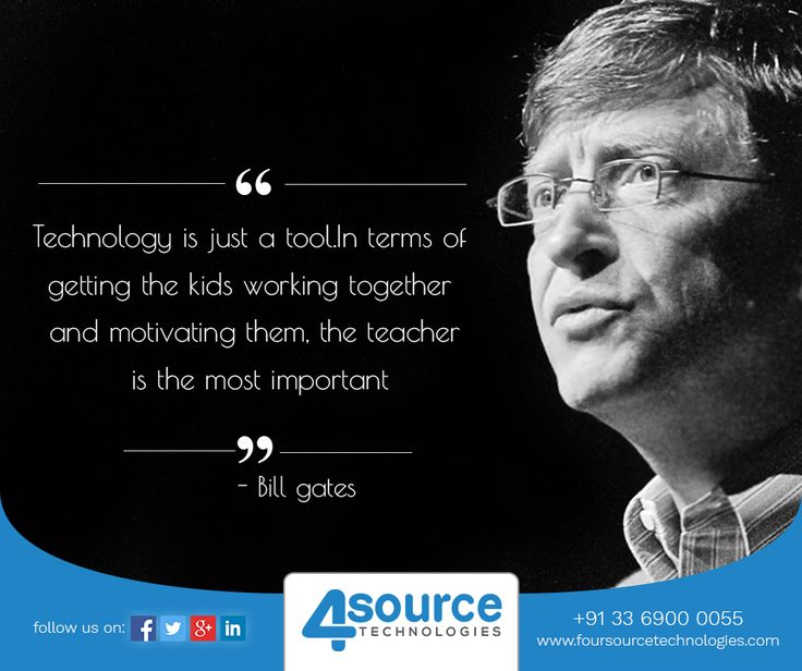 Technology & Motivational Quotes