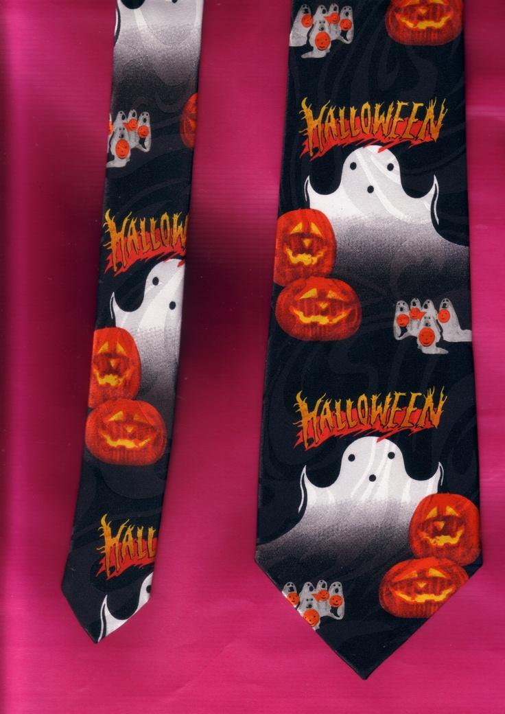 Halloween necktie