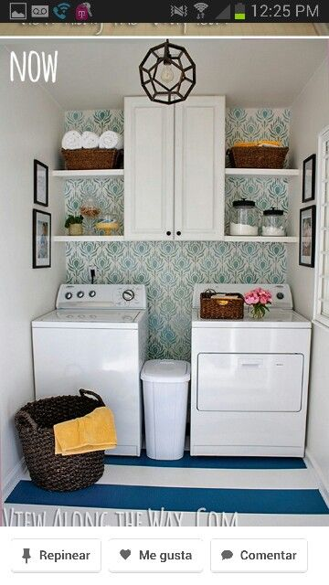 72 best stacked laundry room images on pinterest home for Decoracion del hogar pinterest