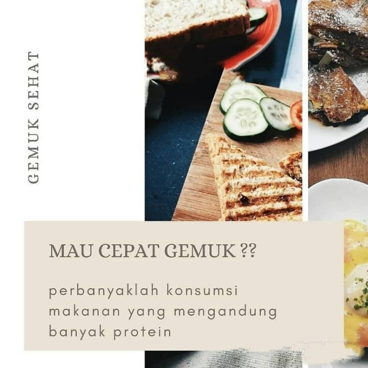Solusi Cepat Gemuk Nutrisi Penggemuk Badan Sehat 1 Zinc Capsules Egg Protein Merangsang Dan Menstabilkan Pertumbuhan Hor Food Best Makeup Products Bread
