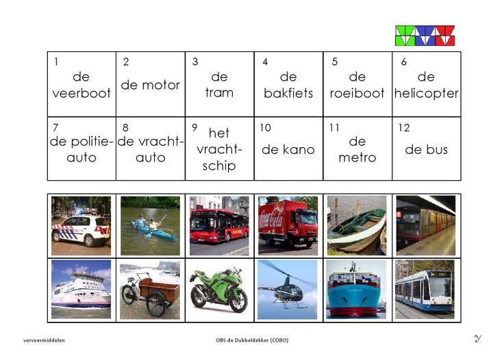 vervoermiddelen 3