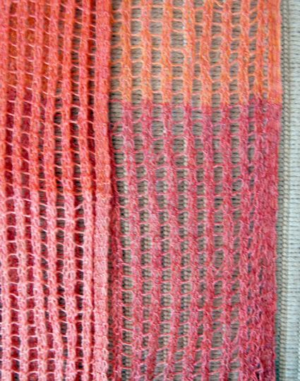 Knitting Two Color Bee Stitch : 17 Best images about Knitting - curtains on Pinterest Lace, Purl bee and Va...