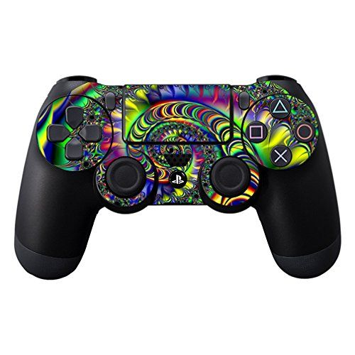 MightySkins Protective Vinyl Skin Decal for Sony PlayStation DualShock PS4 Controller Case wrap cover sticker skins Acid *** Visit the image link more details. Note:It is affiliate link to Amazon.