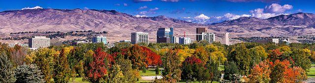 Boise City Skyline Fall | Flickr - Photo Sharing!
