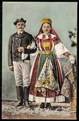 Torockói pár   Képeslapok   Hungaricana