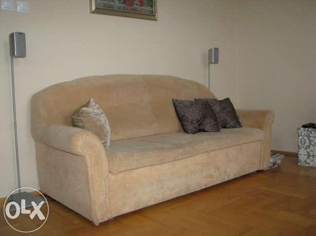 590 zł: Sprzedam-Komplet, fotele 2szt, sofa rozkładana 1szt. Stan mebli określam jako bardzo dobry, sofa jest rozkładana. Wspomniane wcześniej meble znajduja się w domu w którym nie pali się tytoniu i nie ma ...
