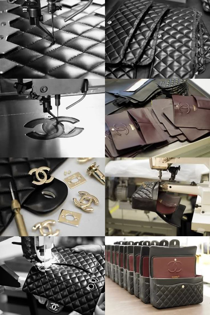 Chanel 2.55 bag in Making #Chanel