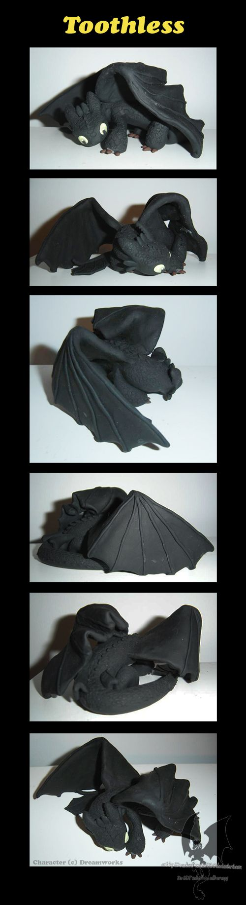 Sculpey Toothless