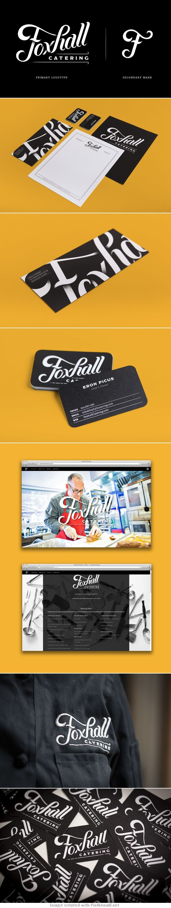 "Foxhall Catering  This web design is amazing and a great concept for ours... Like the idea of showing the ""brew master"" at work..."