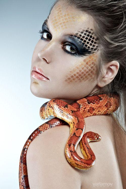 Snake Charmer make up