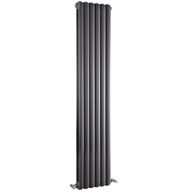 SALVIA Retro designer radiator 1800mm x 383mm - 1964Watt - Antraciet - Image 1