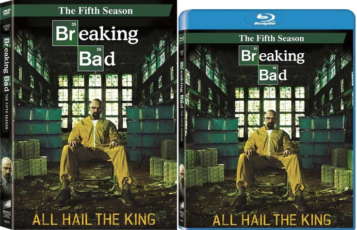 Drug kingpin Bryan Cranston is back in AMC's 'Breaking Bad: The Fifth Season', coming to DVD and Blu-ray on Tuesday, June 4, 2013. Additional cast: Anna Gunn, Aaron Paul, Dean Norris, Betsy Brandt, RJ Mitte