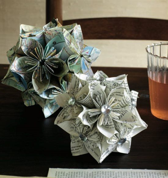 "#PaperFlowers by Saminda Jones, included in ""Free Creative Paper Crafts Tutorials: How to Make Paper Flowers, Handmade Cards and More!"" From ClothPaperScissors.com. #paperart"