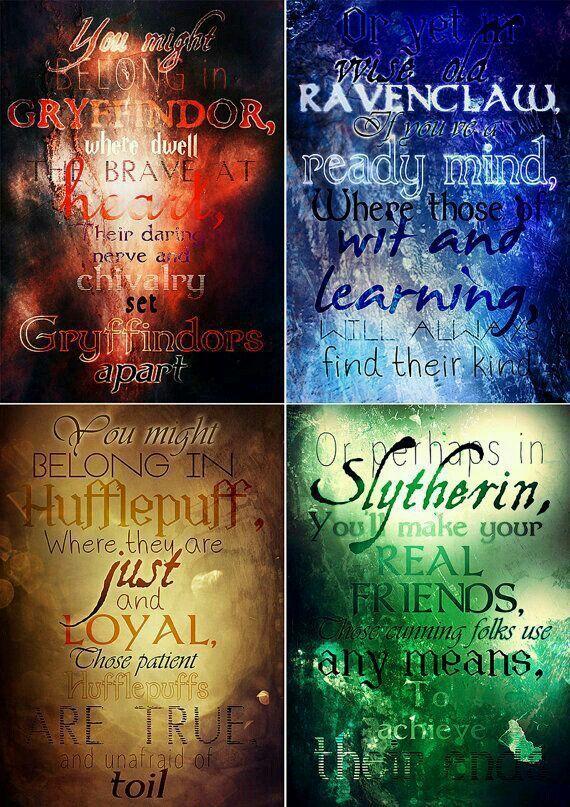 Potterhead Problems - Hogwarts houses - Wattpad