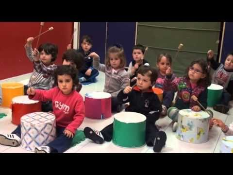 canción de los instrumentos para niños karaoke instrumentos samba para niños kids - YouTube