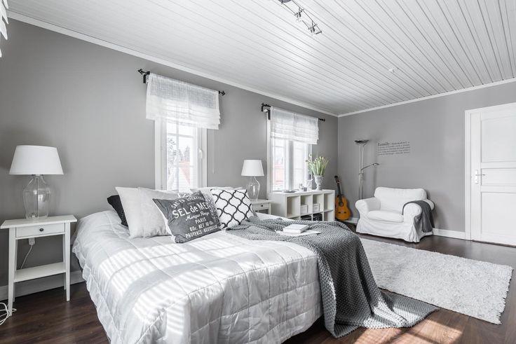 Maalaisromanttinen makuuhuone - Etuovi.com Sisustus