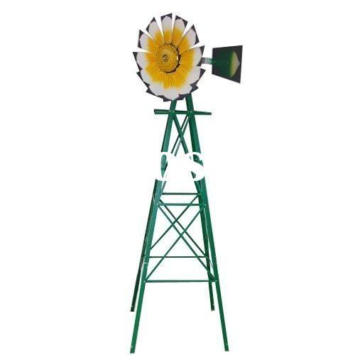 small yard windmills metal | Metal Windmill 8FT