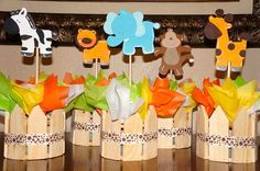 jungle safari babyshower decoration ideas | baby shower jungle theme decorations 2