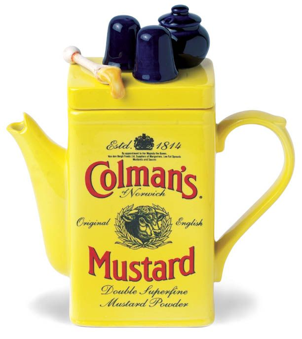 Especially designed and produced for the well-known Colman's Mustard Shop, based in Norwich, Norfolk