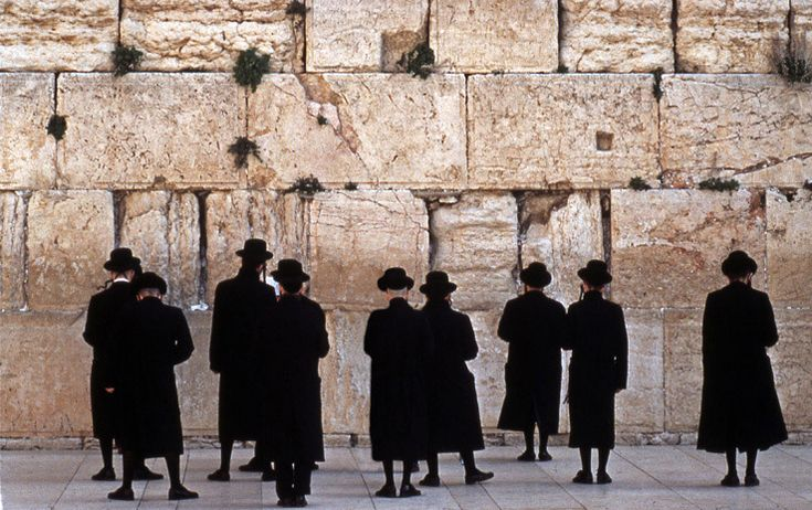 The Western Wall (also know as the Wailing Wall or Kotel), located in the Old City of Jerusalem at the foot of the western side of the Temple Mount, Israel. #travel #bucketlist