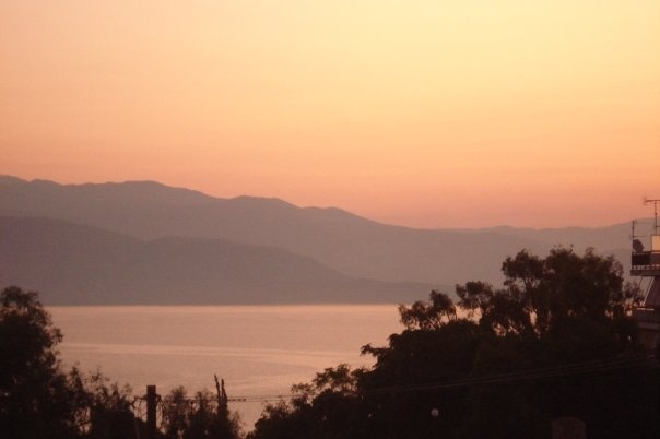 Sunrise, Egio, Greece