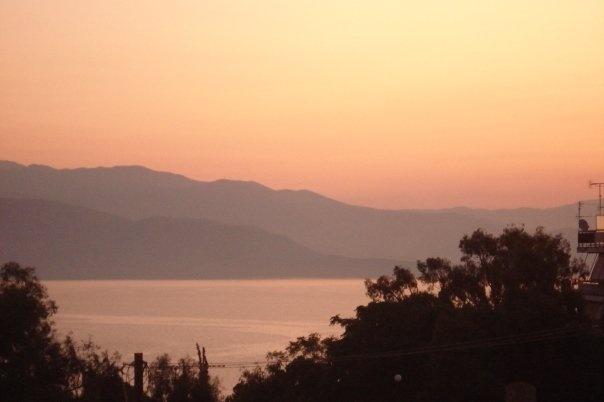 Sunrise, Egio, Greece