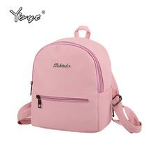 YBYT brand 2017 new small fashion solid letter rucksack high quality women shopping package ladies famous designer travel bag(China (Mainland))