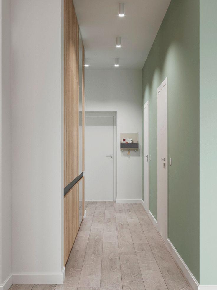 скандинавский стиль в интерьере, минимализм, интерьер с белыми стенами, цветовые акценты в интерьер
