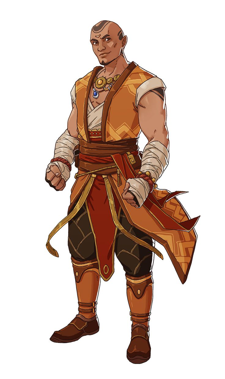 ArtStation - RPG Character Set 04, Ernesto Irawan