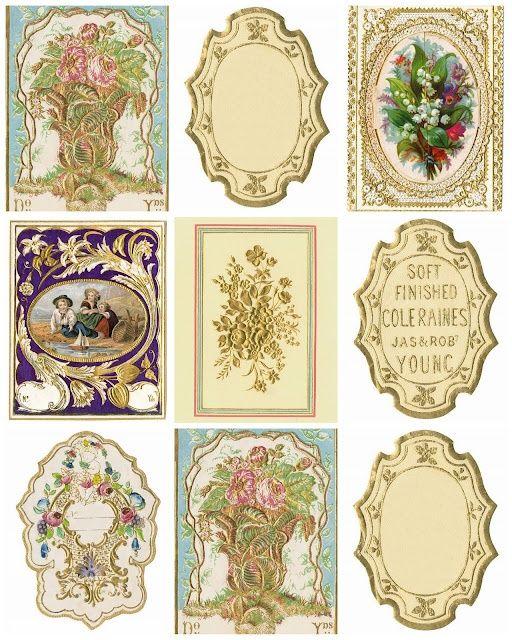 Resultado de imagem para modelo de etiquetas vintage