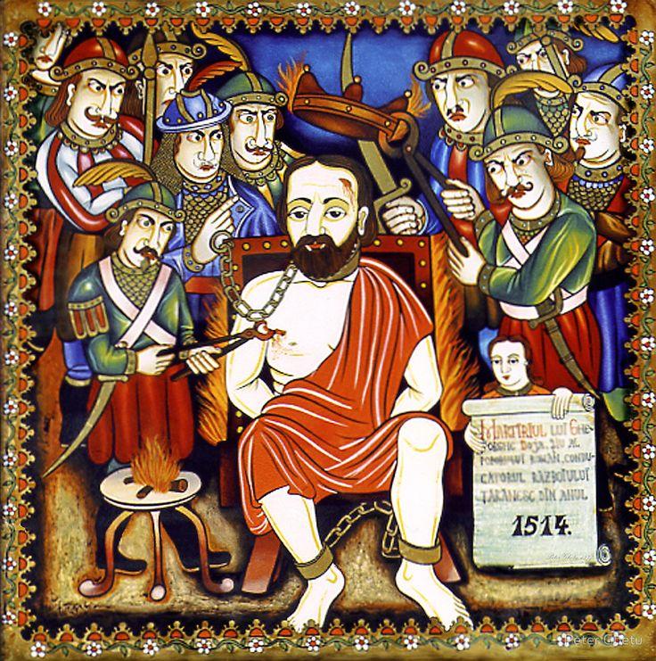Martyrdom of G.Doja. by Peter Ghetu