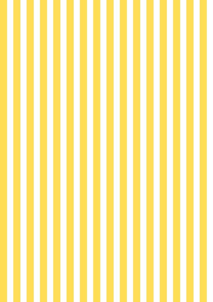 FREE printable yellow-white striped pattern paper ^^