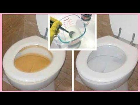 ¡Increíble! Deja tu inodoro limpio en sólo 10 segundos con este truco. - YouTube