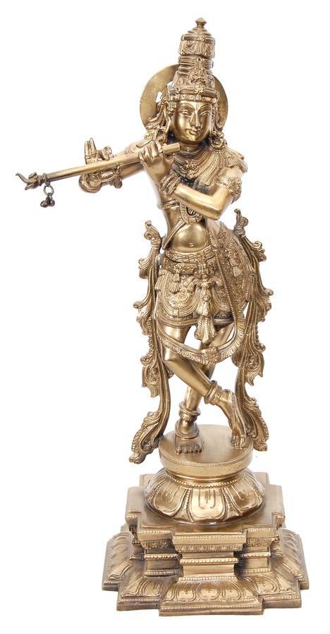 Bronze Statues - Krishna