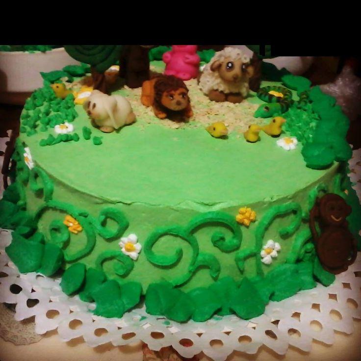 animales cakes