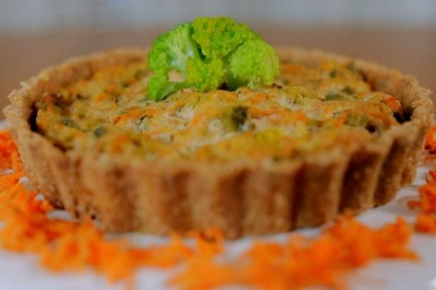 Quiche de tofu com legumes | Receita