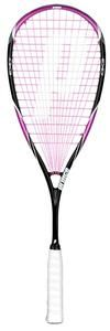 This brightly coloured #squash racket is used by Nicol David the current world no 1 and Commonwealth gold medalist. Perfect for players wanting to stand out on court! The lightweight of this model is easy and comfortable to play. The extra weight is in the head of the racket which makes for extra power through the ball without the extra swing.A perfect choice for players of all abilities regardless of age, sex and ability. - R1395.00
