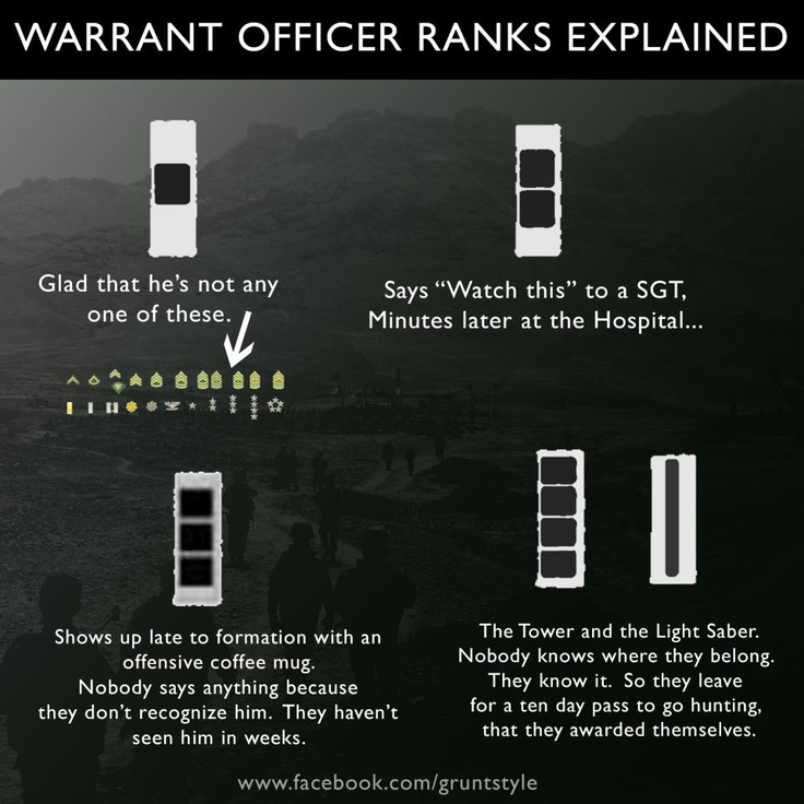 Warrant Officer Ranks Explained Military and Veteran LOL